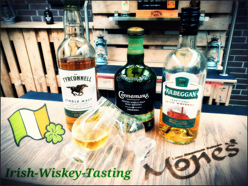 10.12.2018 um 19:30 Uhr Irish Whiskey Tasting