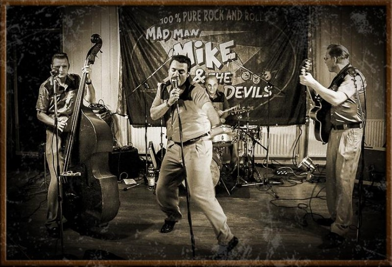 07.03.2019 um 20:00 Uhr MAD MAN MIKE & The Rhythm Devils